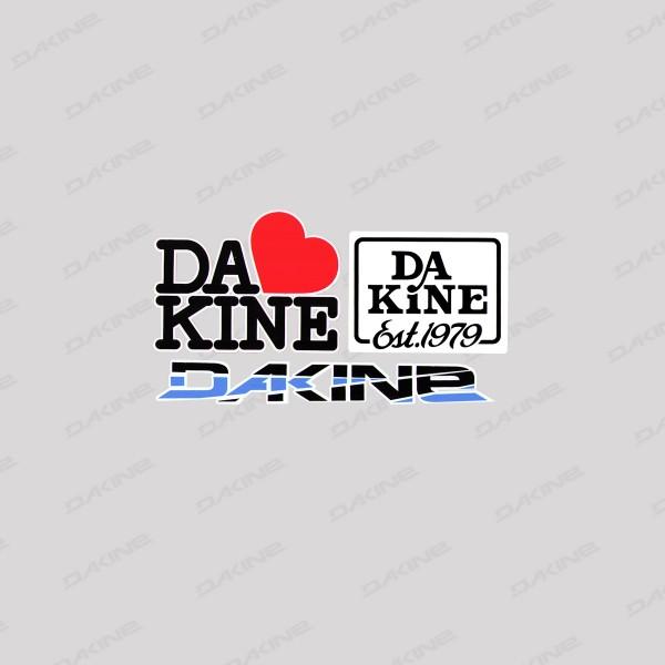 Dakine I LOVE Aufkleber