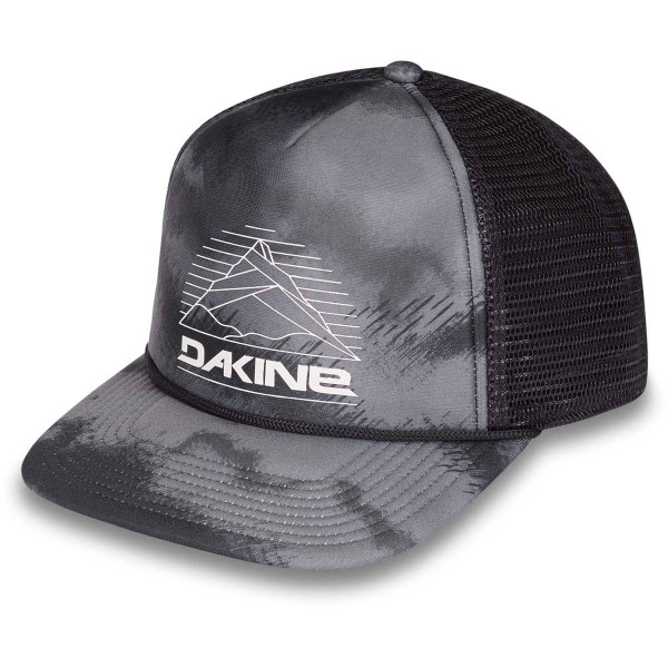 Dakine Mountain Lines Trucker Cap Ashcroft Camo Black
