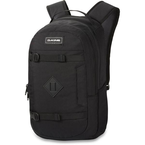 URBN Mission Pack 18L Rucksack mit iPad/Laptop Fach Black