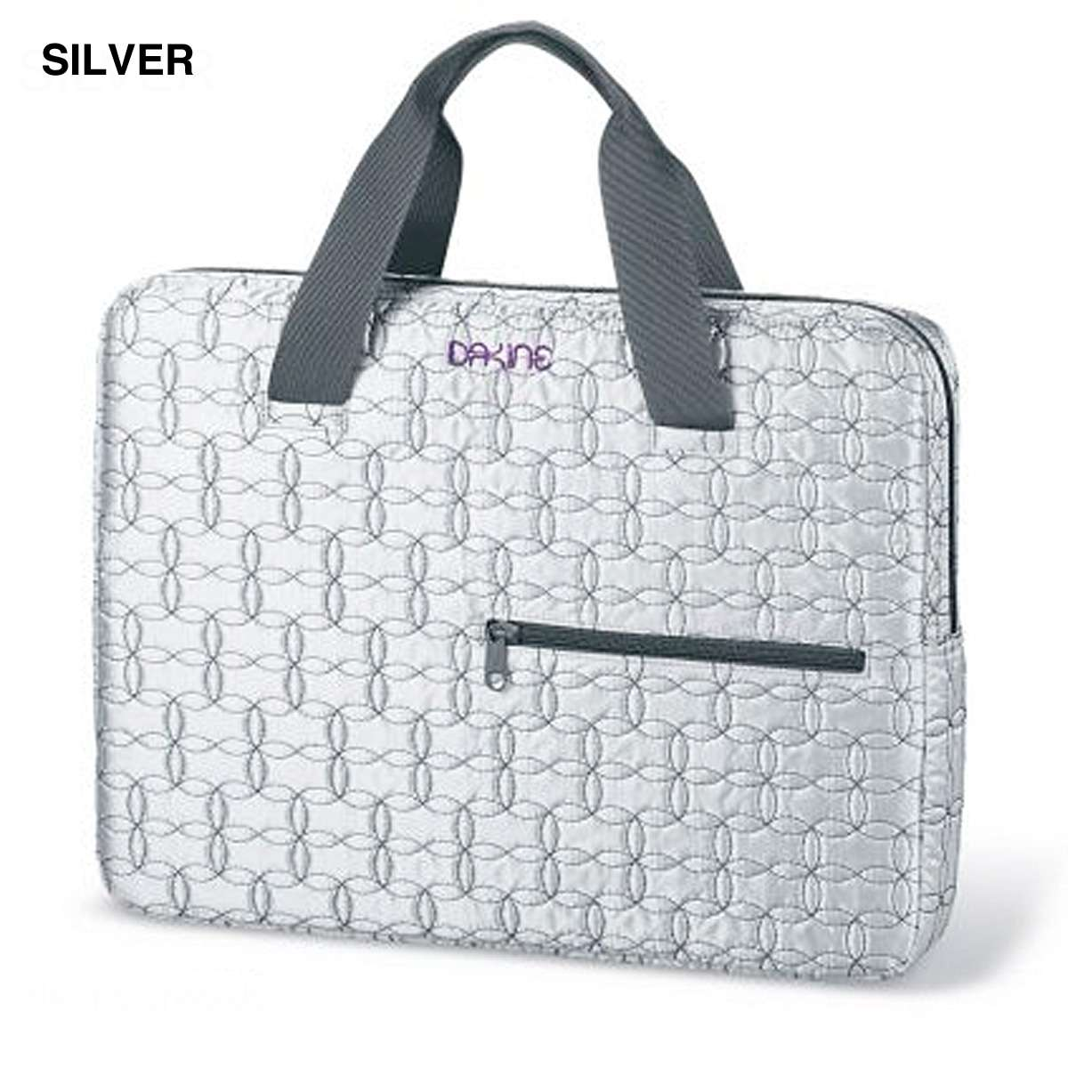 Dakine Quilted Laptop Tote Small Damen Laptopsleeve Silver ... : quilted laptop tote - Adamdwight.com
