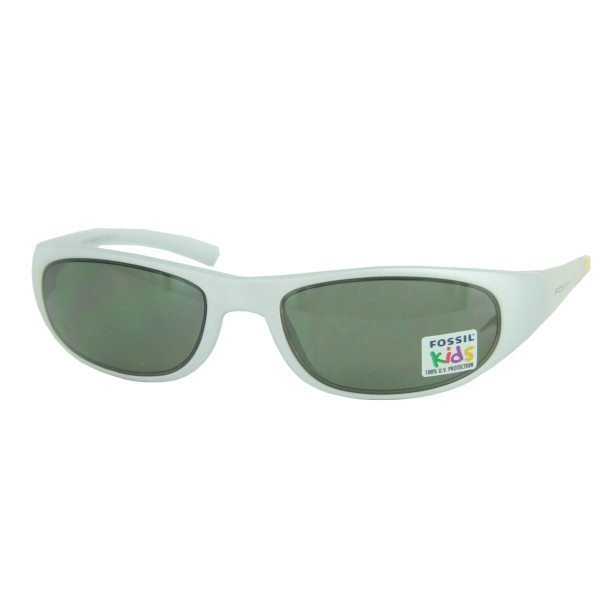 Fossil Kids Sunglasses Lines Silver