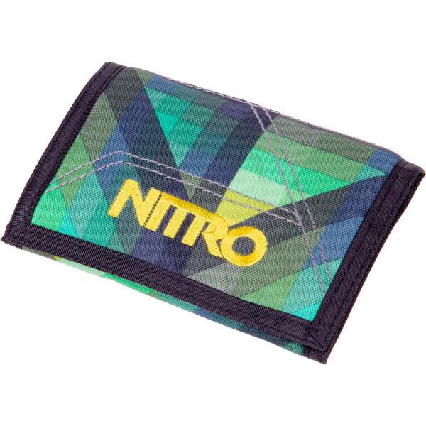 Nitro Wallet Geo Green