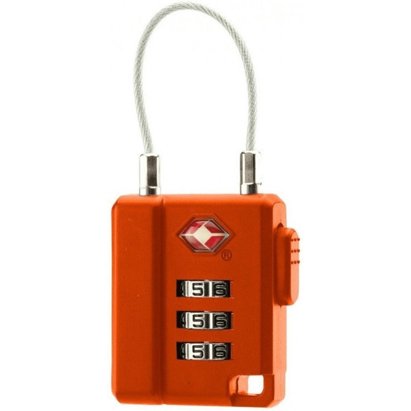 BasicNature TSA Lock Orange