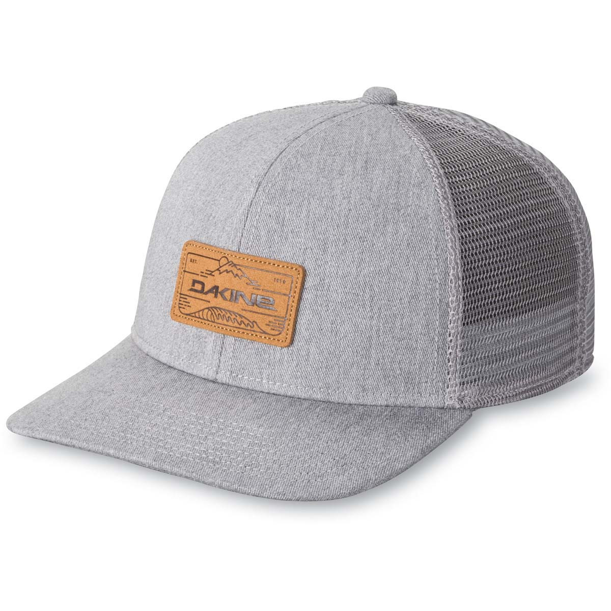 2181ccc5f Dakine Peak To Peak Trucker Cap Heather Grey