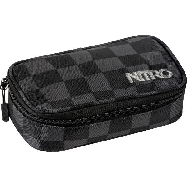 Nitro Pencil Case XL Black Checker