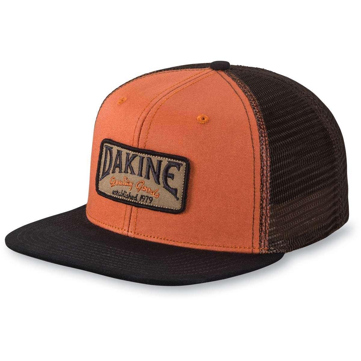 6b243406d01 Dakine Archie Trucker Cap Ginger   Black