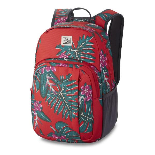 Dakine Campus S 18L Backpack Red Jungle Palm