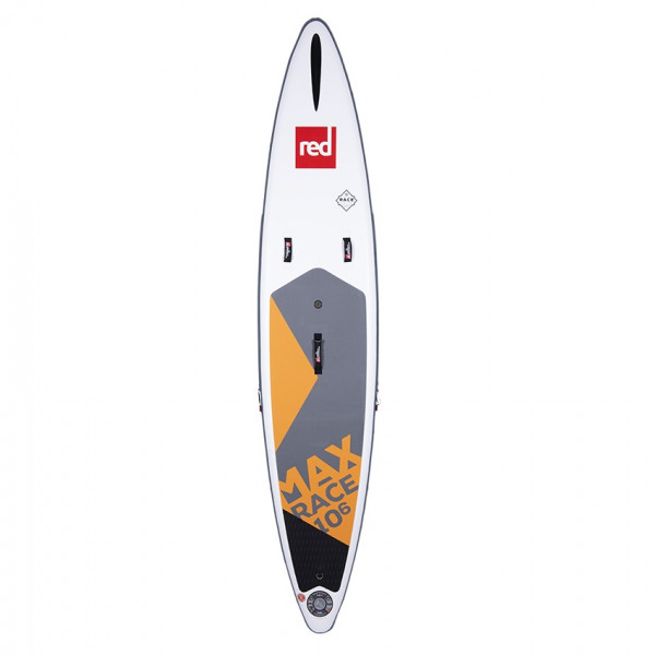 RED SUP Board MAX RACE 10'6'' x 25'' x 4.7'' MSL with TITAN Pump & RSS - SUP Board inflatable