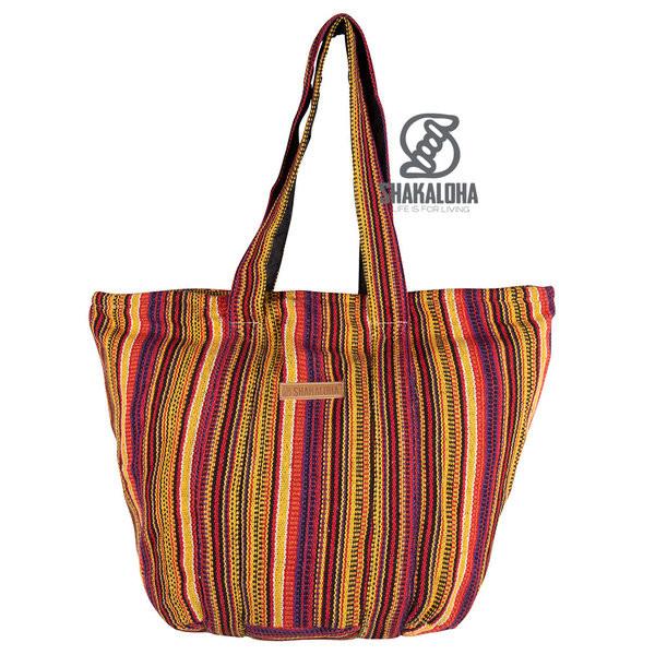 Shakaloha Heach Bag Yellow Striped