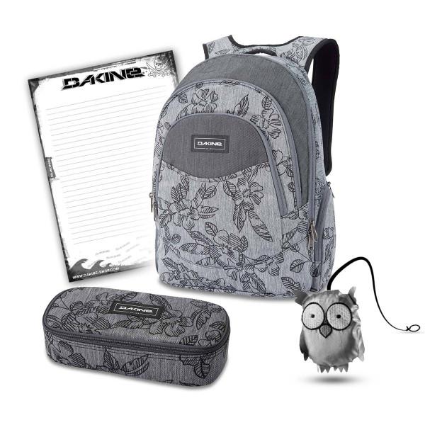 SCHOOL CASE Mäppchen Ranzen DAKINE SET Laptop Rucksack Schulrucksack PROM 25l