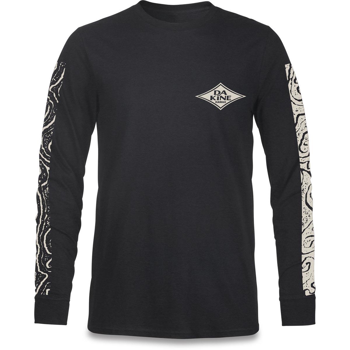 Herren Dakine Lava Tubes T-Shirt black Man Freizeit und Sport