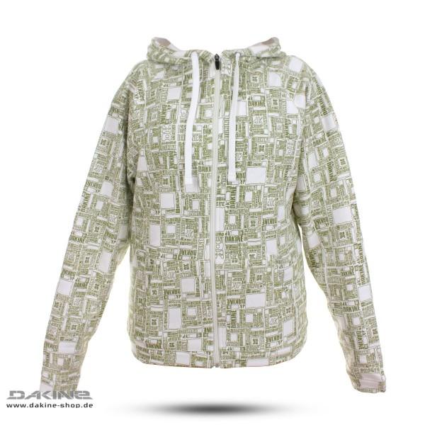 premium selection 4cb89 849d6 Dakine Box Print Zip Hoodie White