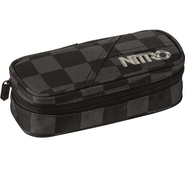 Nitro Pencil Case Black Checker