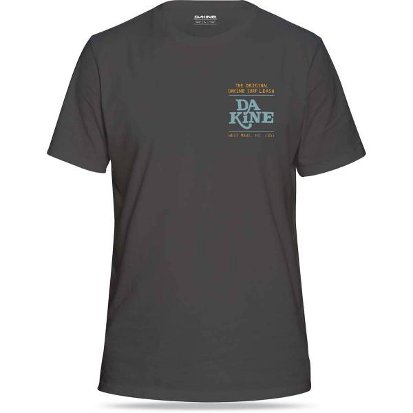 Dakine Da Leash Herren T-Shirt Washed Black