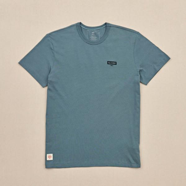 GLOBE Living Low Velocity Tee T-Shirt S/S Steel Blue