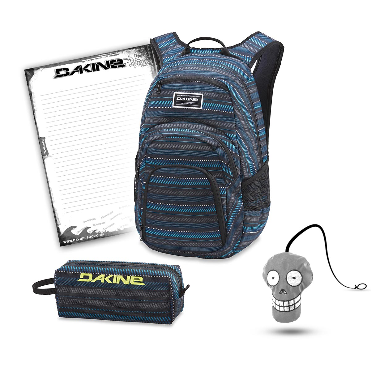 aa9951e7b03 Dakine Campus 25L + Accessory Case + Harry + Notepad School Set Ventana | Dakine  Campus 25L | School Sets | School | DAKINE Shop.de: Dakine-Rucksack, ...