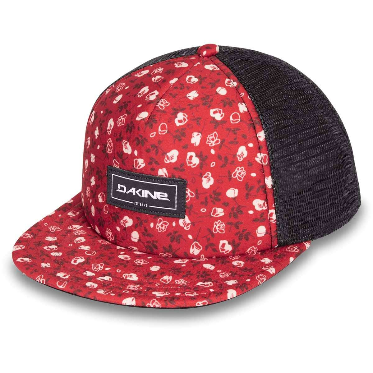 935370f68 Dakine Hula Trucker Cap Crimson Rose
