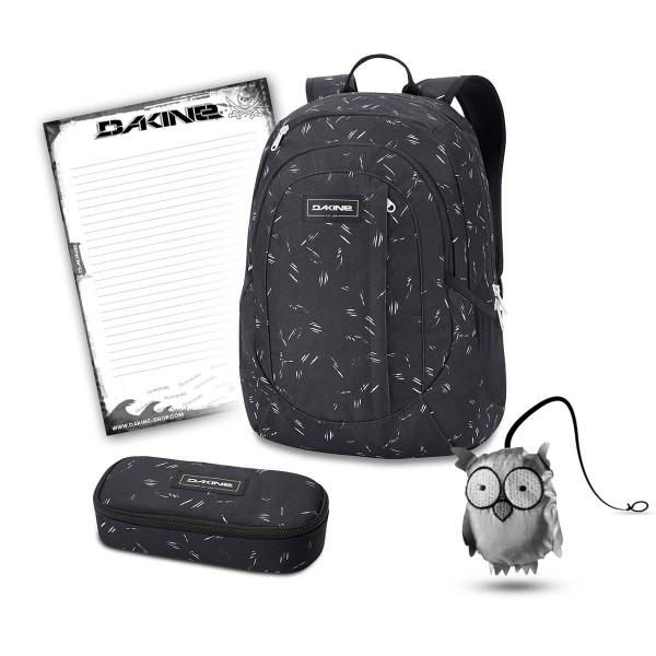 på føtter bilder av å kjøpe fornuftig priset Dakine Garden 20L + School Case + Emma + Block School Set Slash Dot