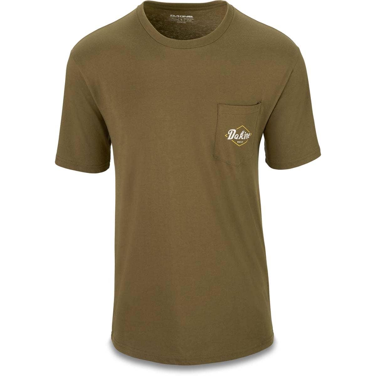 Dakine Built Pocket T Shirt T Shirt Dark Olive