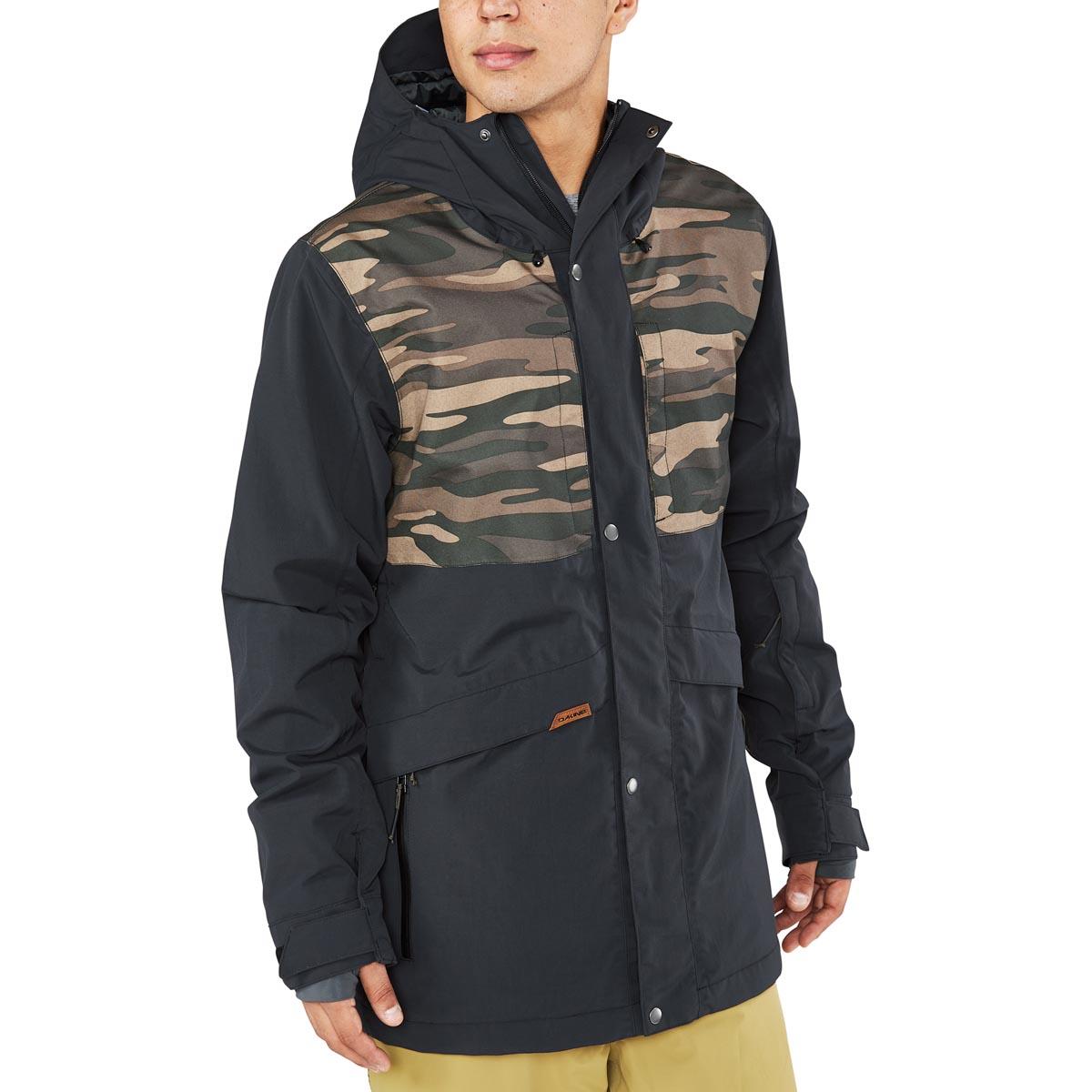 Dakine Wyeast Jacket Ski Snowboard Jacket Black Field Camo