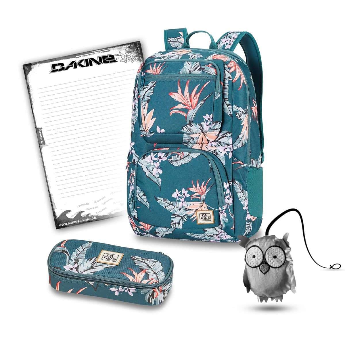 604f2734a1e8e Dakine Jewel 26L + School Case + Emma + Block Schulset Waimea ...