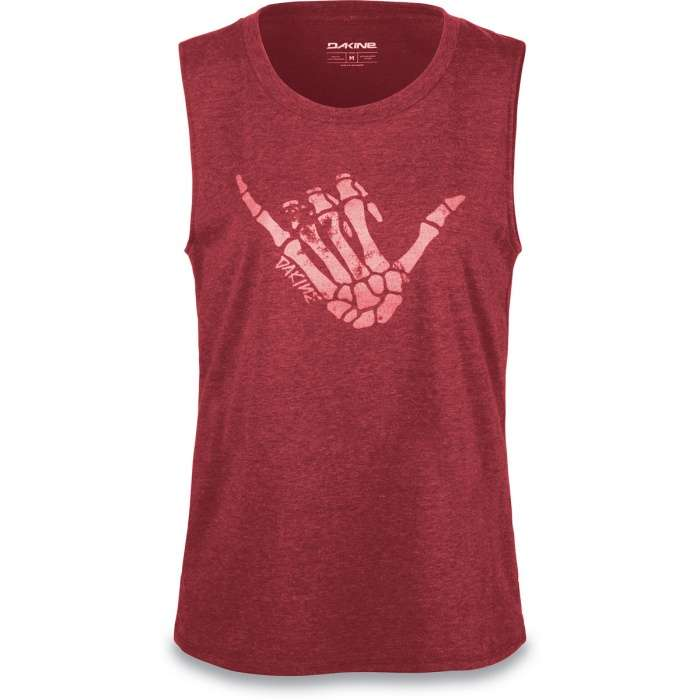 95eaea9b638 Dakine Womens Shaka Tech Tank Shirt Heather Burgundy | Dakine Shop