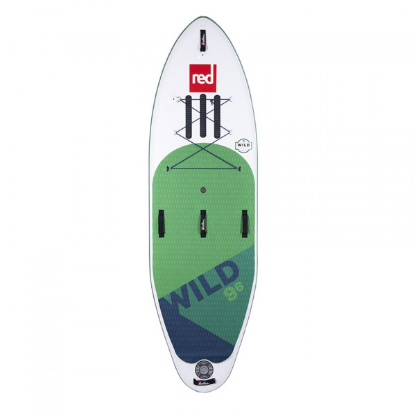 RED SUP Board WILD 9'6'' x 34'' x 6'' MSL with TITAN Pump - SUP Board inflatable