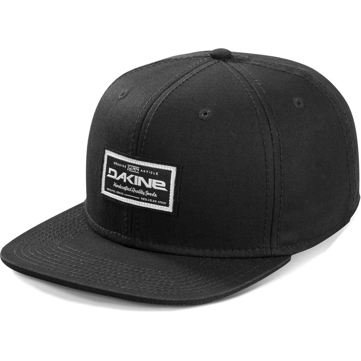 Dakine Quality Goods Baseball Cap Black  9eeab9e959d