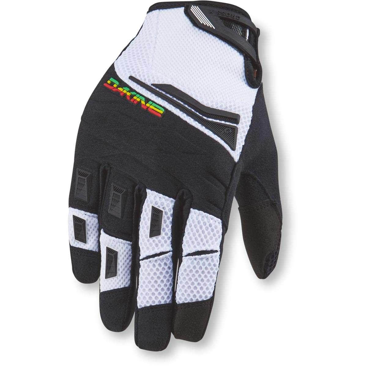 Dakine Cross-X Glove Bike Gloves Rasta  f7d69aa13