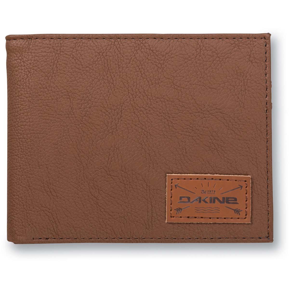 4501ee965e3bd Dakine Riggs Coin Wallet Wallet Brown