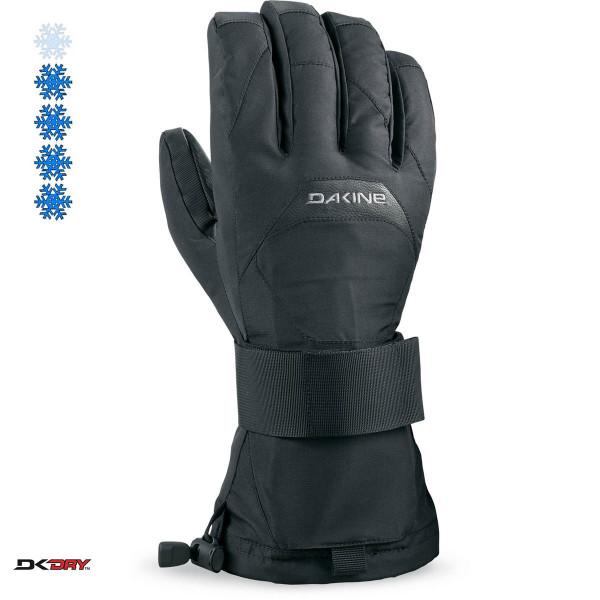 Dakine Crossfire Men's Snowboarding Ski Gloves Black
