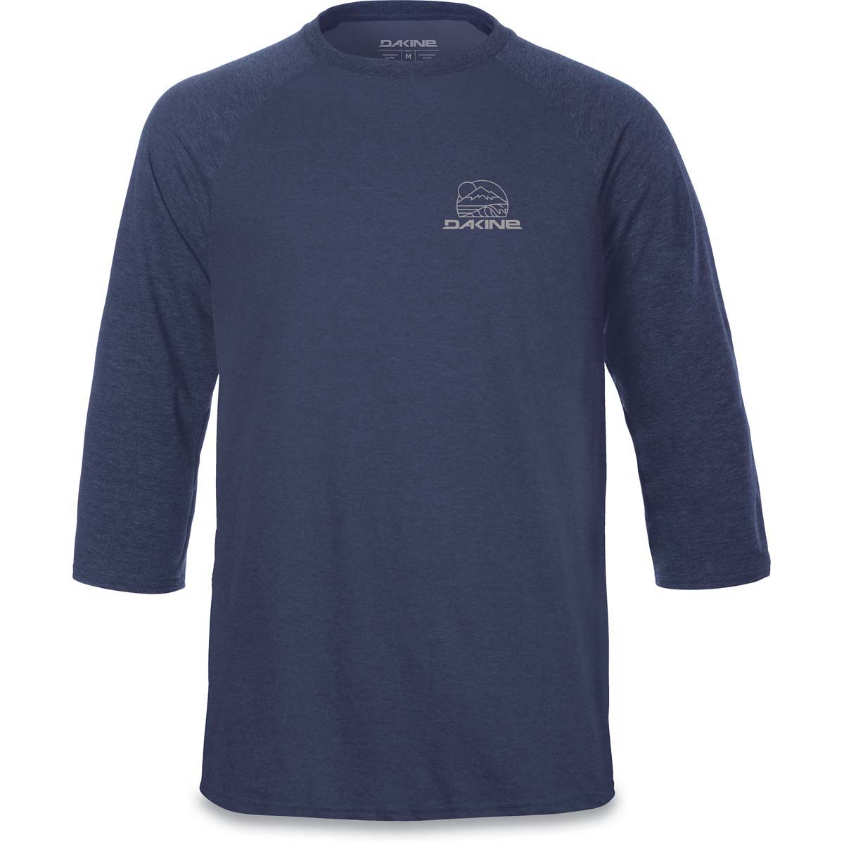 0afe4c109 Dakine Well Rounded 3/4 Raglan Tech T Shirt Heather Navy | Dakine Shop