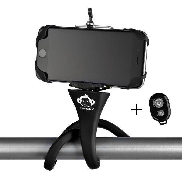 Monkeystick Selfie Stick with Bluetooth Control