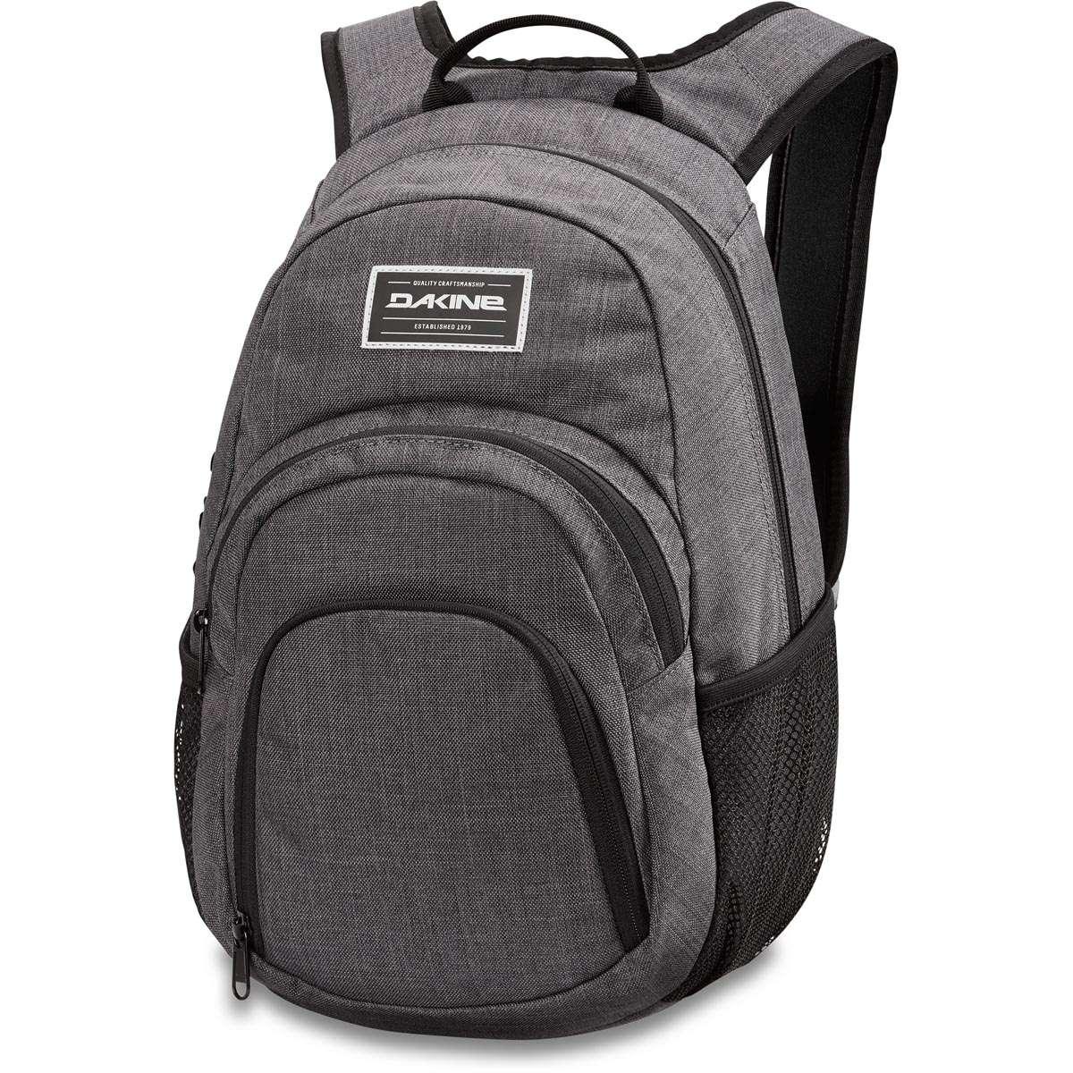Dakine Campus Mini 18L Backpack Carbon   Dakine Shop 7b8f8063a9