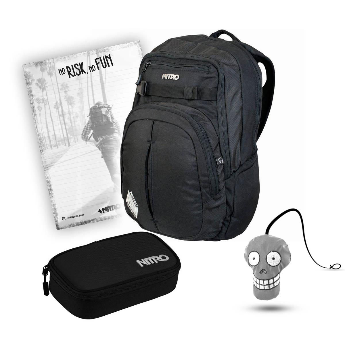 DAKINE SET Laptop Rucksack Schulrucksack CAMPUS SM 25l EQ BAG SM Sporttasche