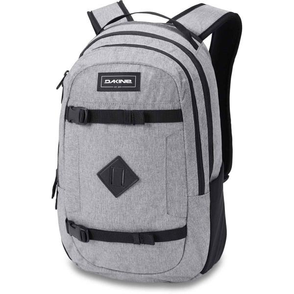 Dakine URBN Mission Pack 18L Rucksack mit iPad/Laptop Fach Greyscale