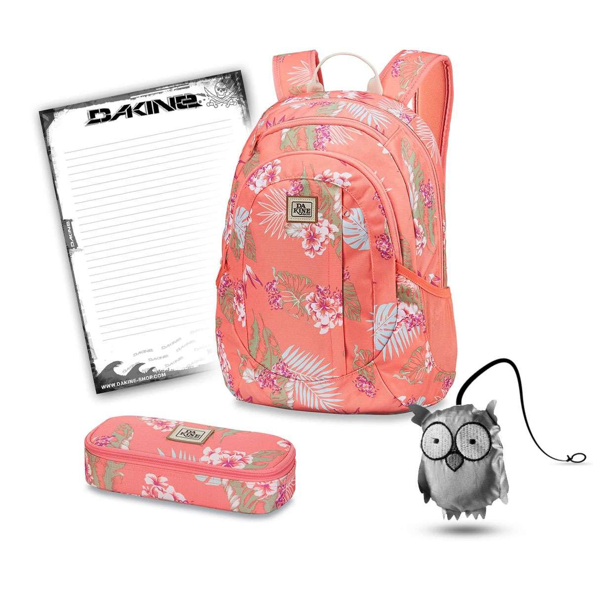 c73d8e77a53fd Dakine Garden 20L + School Case + Emma + Block School Set Waikiki ...