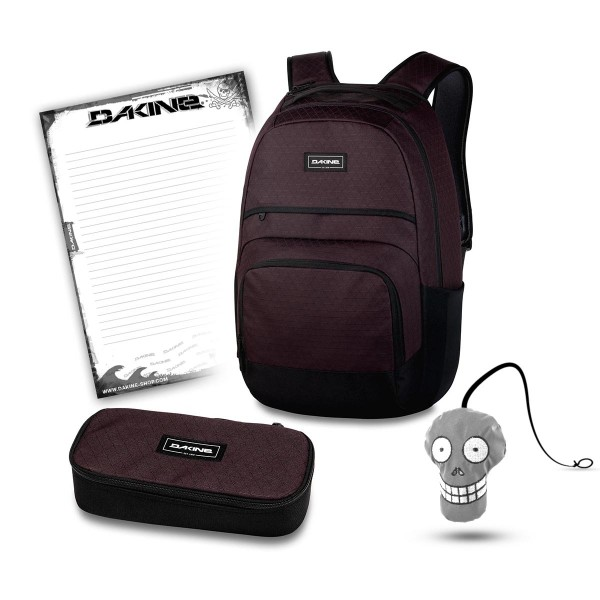 Dakine Campus L 33L Backpack with Matching Accessorry Case Fits Laptop//Tablet
