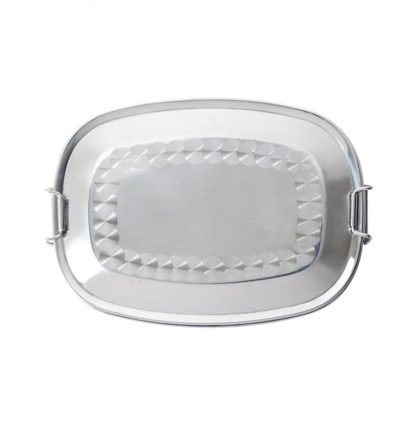 BasicNature Lunchbox Premium Steel 0,75 L