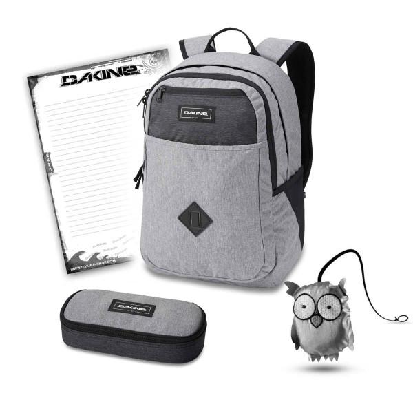 Dakine Essentials Pack 26L + School Case + Emma Set Greyscale