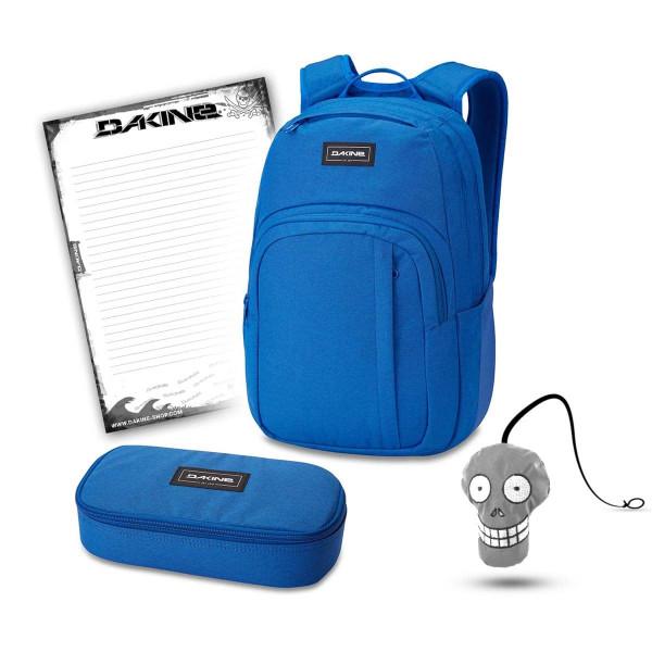 Dakine Campus M 25L + School Case XL + Harry + Block School Set Cobalt Blue