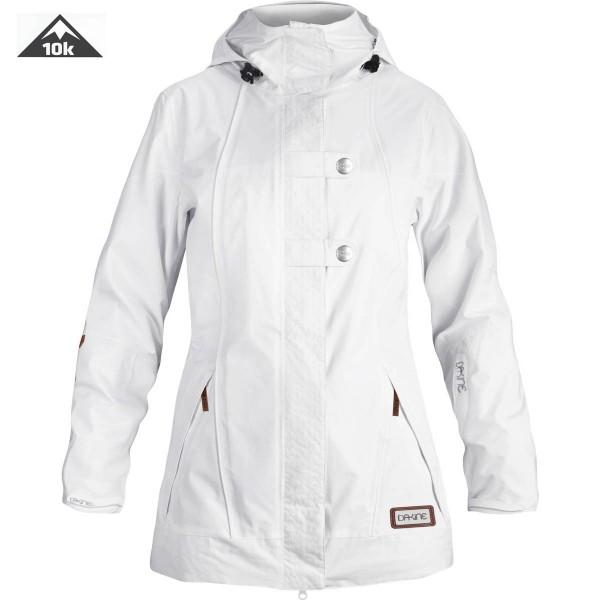 Dakine Womens Helena Jacket Ski Snowboard Jacket White