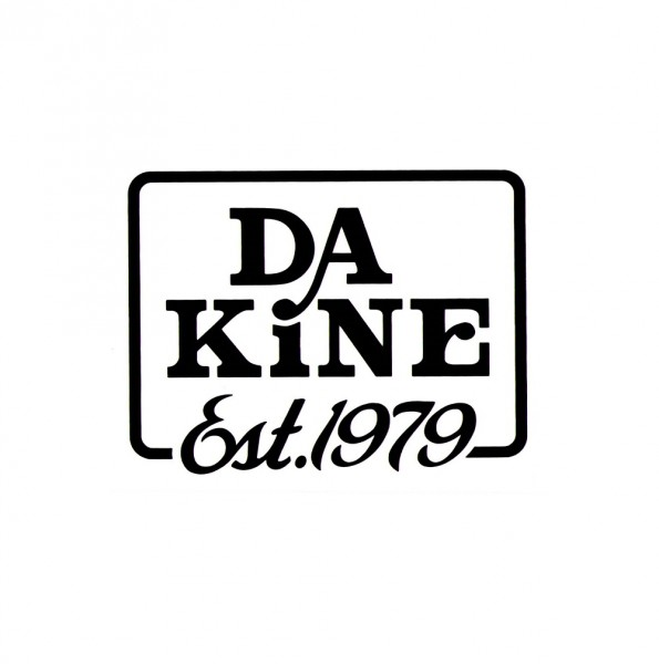 Dakine EST. 1979 Sticker Black