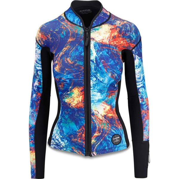 Dakine Women's Mission 1 MM Jacket L/S Lycra Kassia Elemental