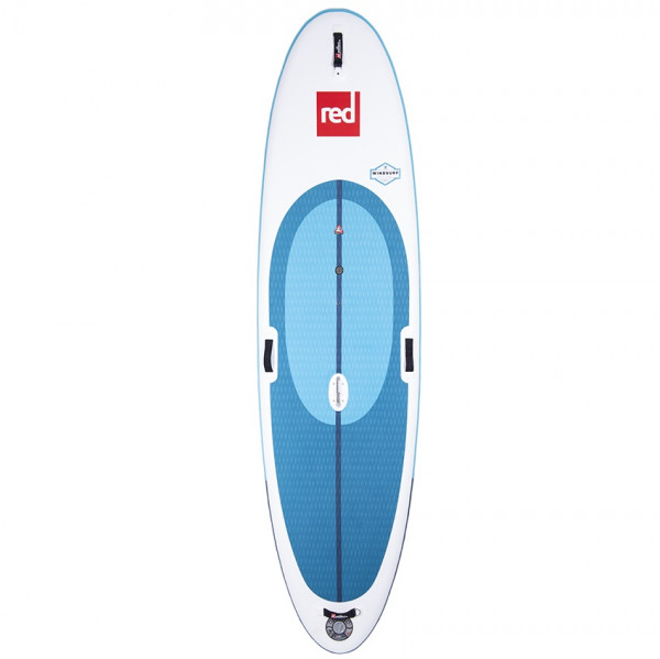 RED SUP Board RIDE WINDSURF 10'7'' x 33'' x 4.7'' MSL with TITAN Pump - SUP Board inflatable